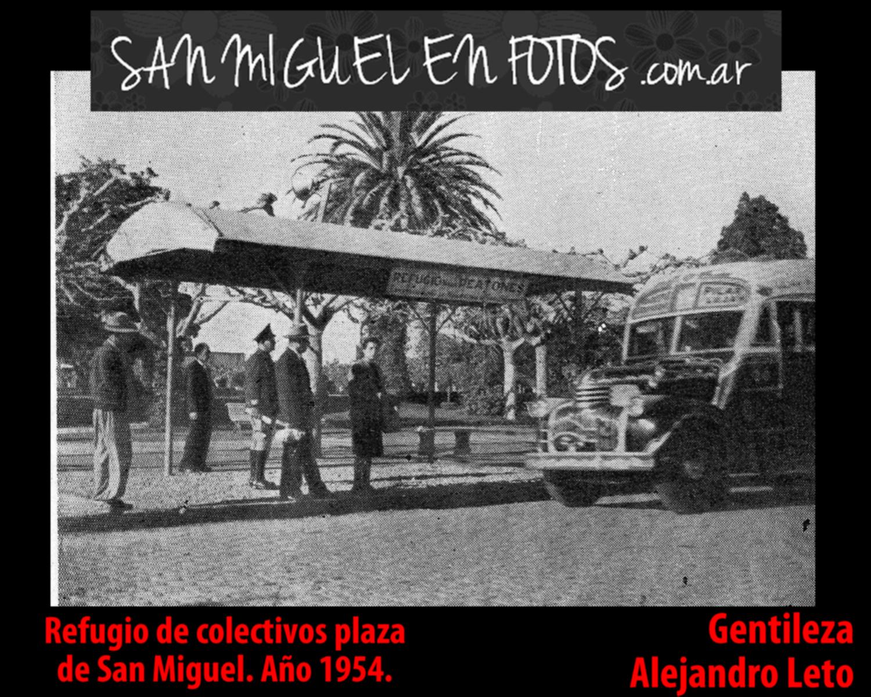 refugio colectivos plaza san miguel año 1954 alejandro leto face