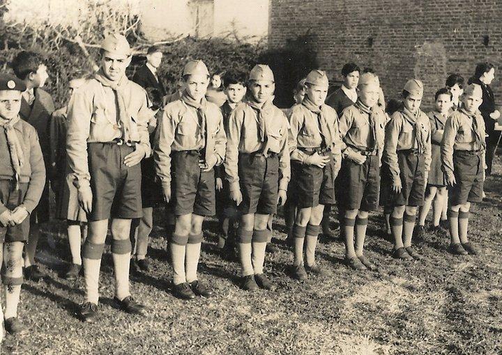 Período  1956  1958  Agrupación  Nuestra Señora del Valle  Muñiz  Primera patrulla Scout Aguilas  Luego vendría  Ardillas  Sr Lagorio Maestro Scout