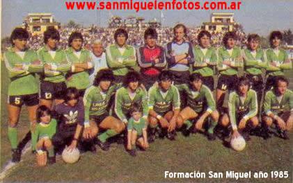 san miguel formacion 1985